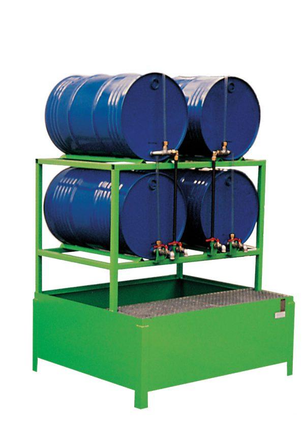 Milieuvatenpallet voor liggende vaten