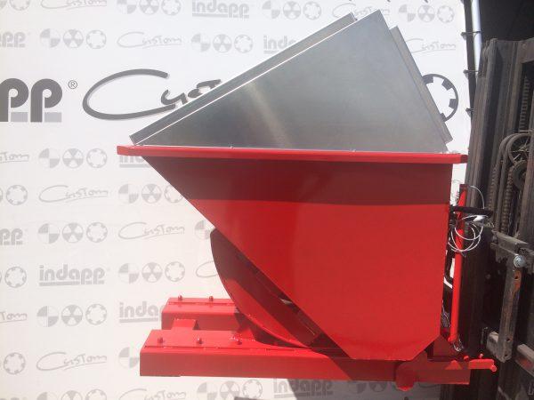 TKB 600 Met RVS deksel